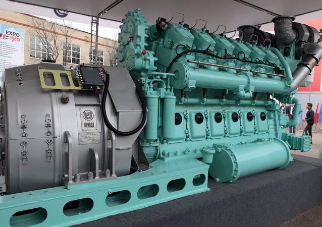 O motor diesel D300 fabricado pela Transmasholding