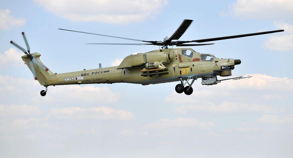 Helicóptero Mi-28UB