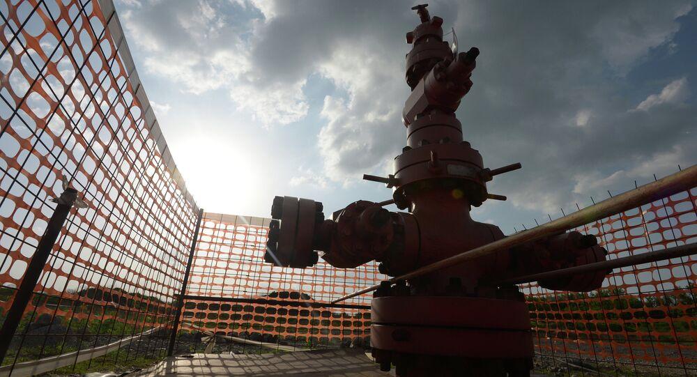 Extração de gás xisto
