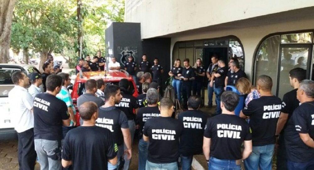 Menor suspeito de cometer os crimes foi levado para a Delegacia de Apuração de Atos Infracionais (Depai), da Polícia Civil de Goiás