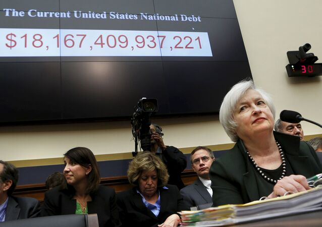 Federal Reserve Board Chair Janet Yellen prepares to testify before a House Financial Services committee hearing on Monetary Policy and the State of the Economy on Capitol Hill at in Washington July 15, 2015