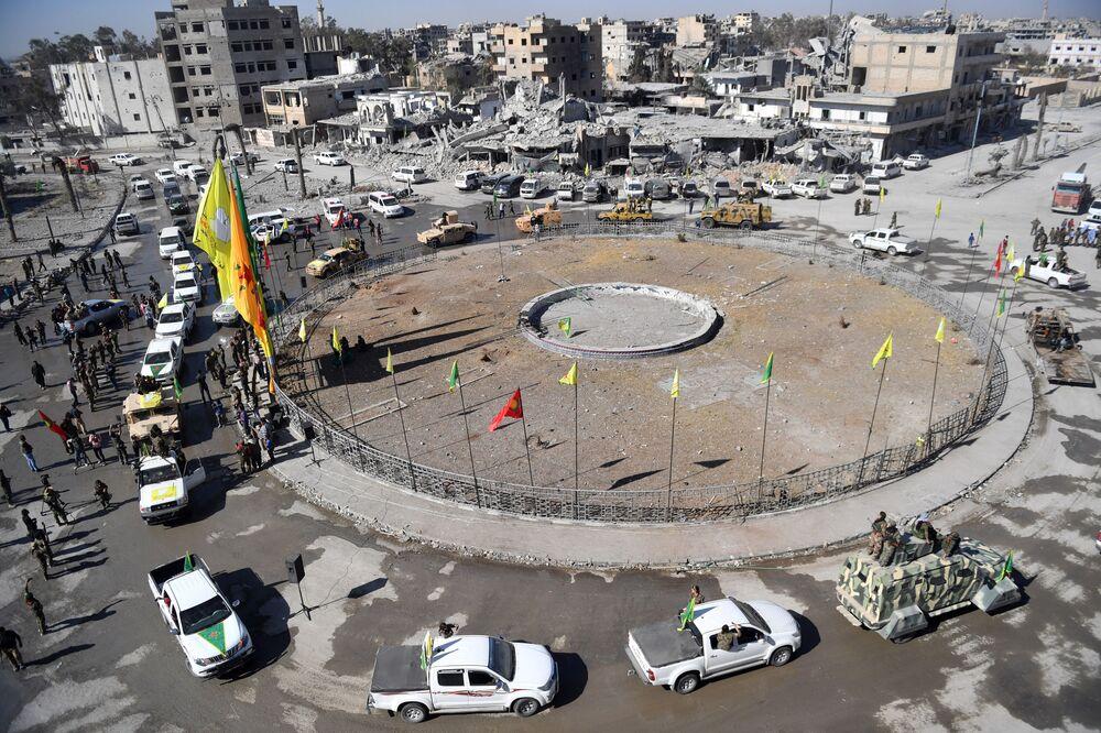 Al-Naim, praça central da cidade de Raqqa
