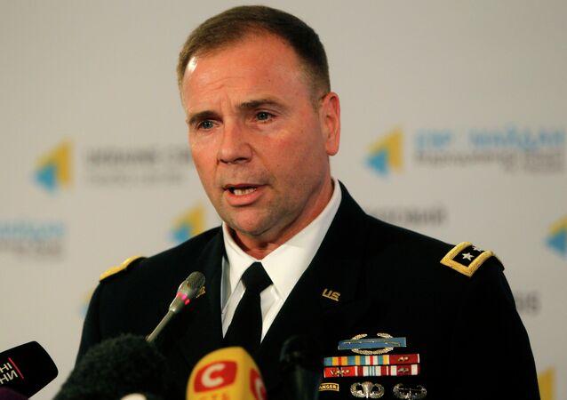 Ben Hodges, comandante do Exército americano (EUA) na Europa