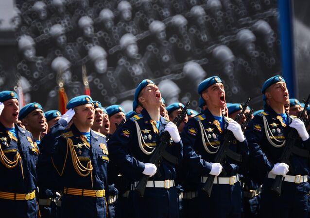 Parada de Vitória em Moscou