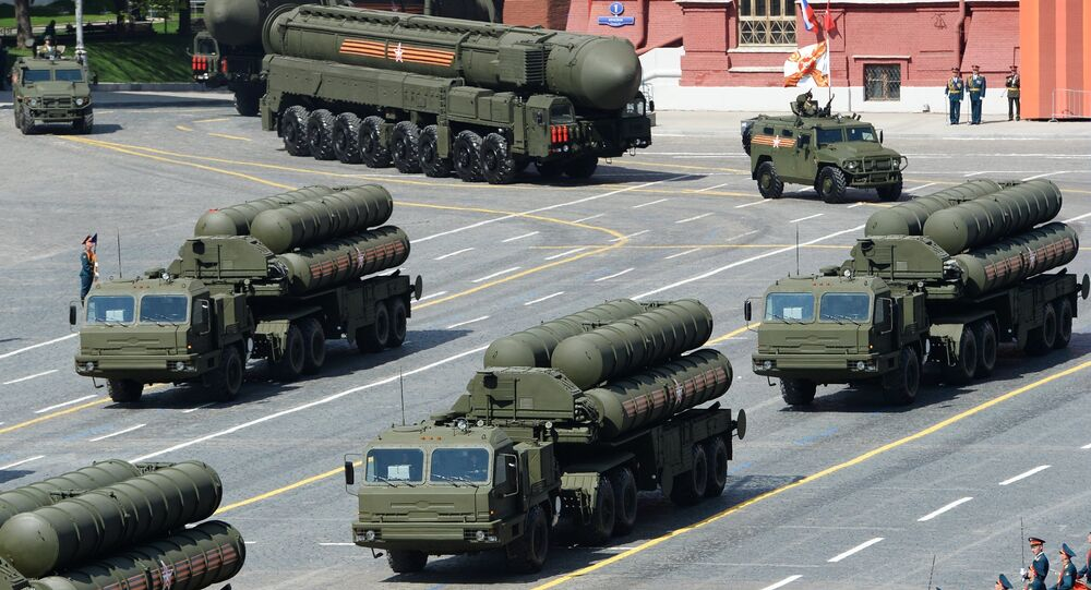 Sistema de lançamento de mísseis S-400 Triumf