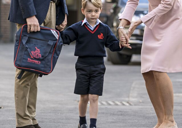 Príncipe George da Inglaterra, filho do príncipe William e da duquesa Catherine