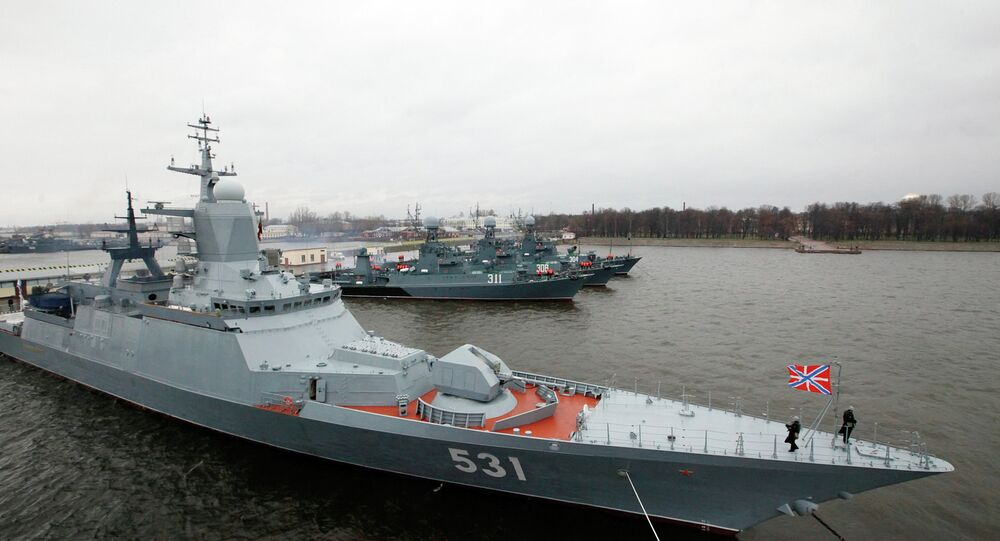 Corveta russa Soobrazitelny (foto de arquivo)
