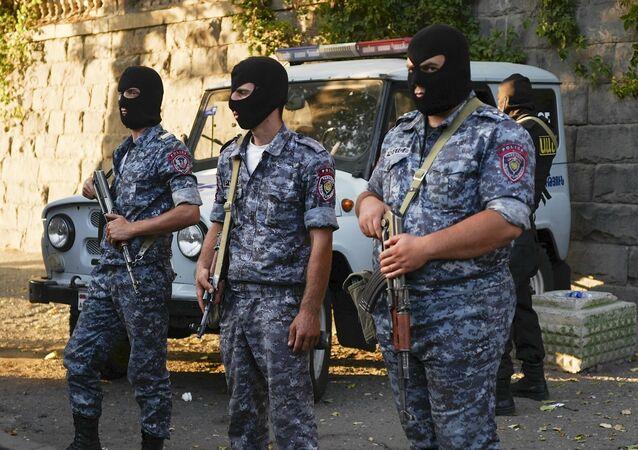 Agentes federais da Armênia (foto de arquivo)