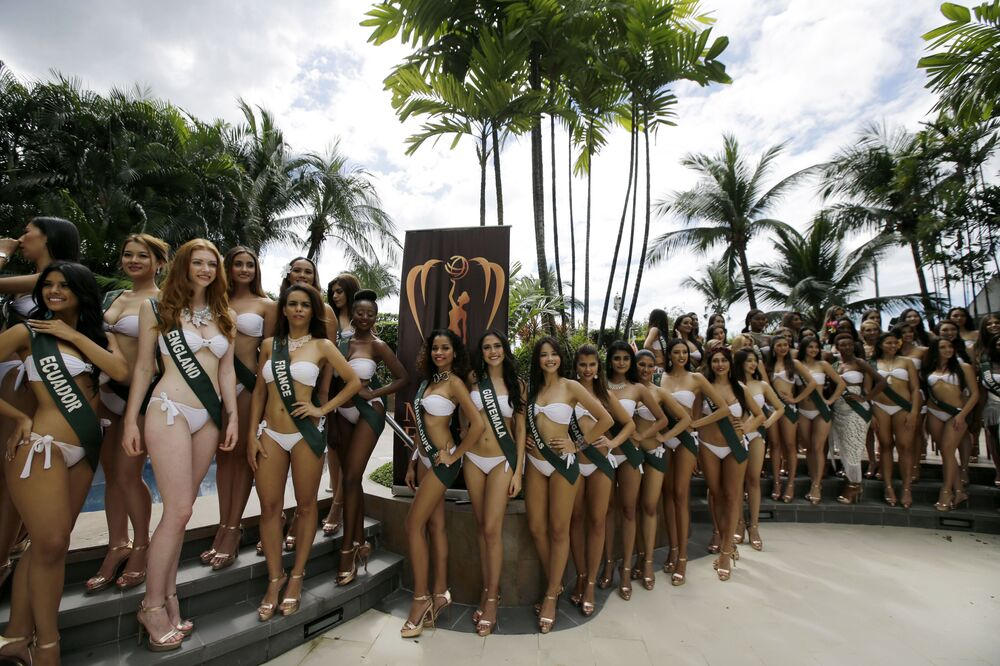 Candidatas ao título Miss Terra