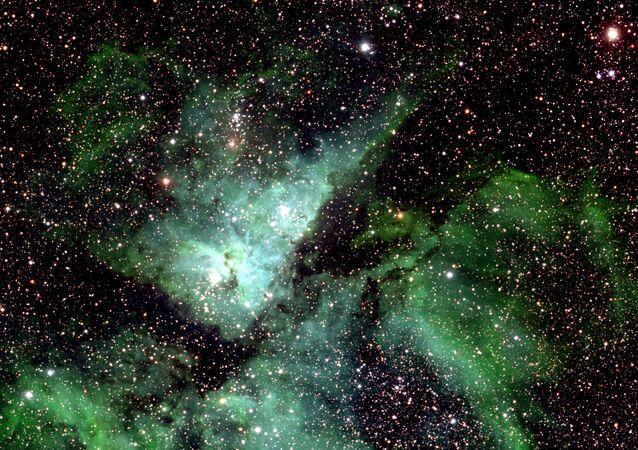 Uma parte pequena da Via Láctea