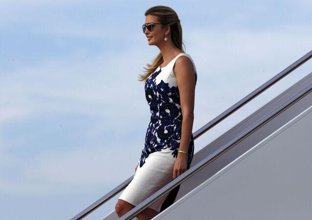 Ivanka Trump chega à base aérea em Maryland, 30 de agosto de 2017
