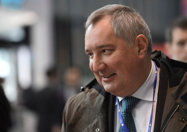 Vice-primeiro-ministro russo, Dmitry Rogozin, foto de arquivo