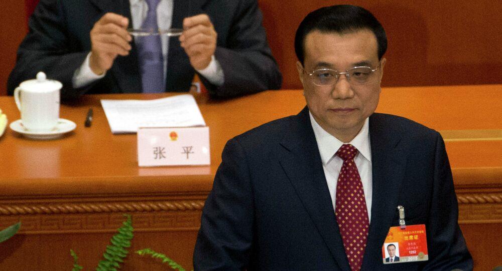 Premiê chinês, Li Keqiang (arquivo)