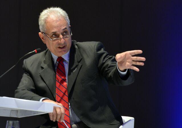 William Waack, jornalista da Rede Globo, durante evento em São Paulo (arquivo)