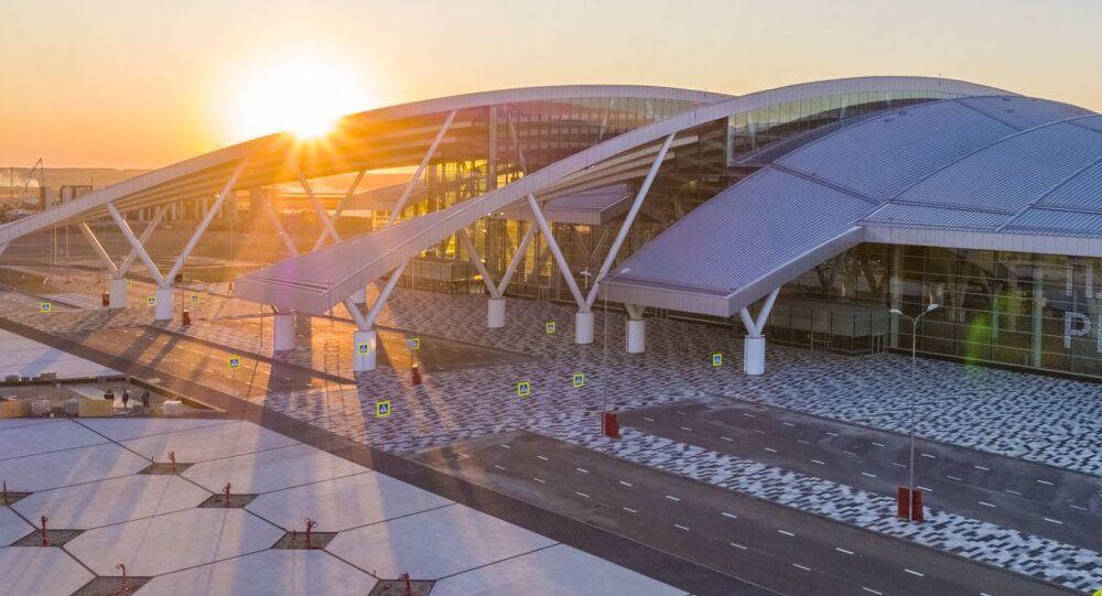 Novo aeroporto internacional de Rostov-no-Don (Platov)