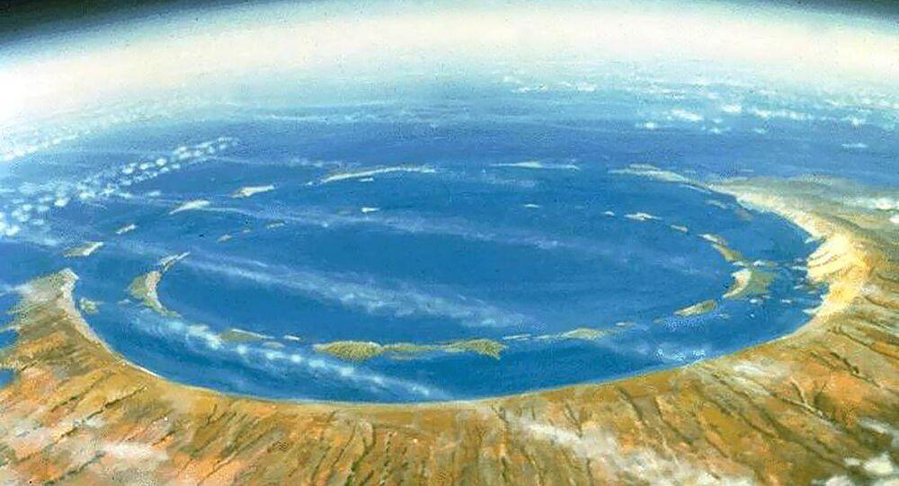Cratera Chicxulub - Mexico