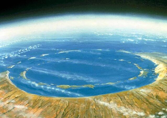 Cratera Chicxulub - Mexico