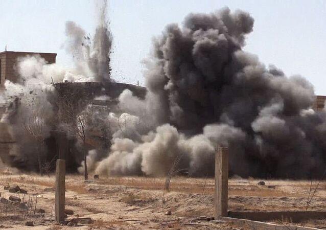 Situação em Deir ez-Zor, Síria (imagem de arquivo)