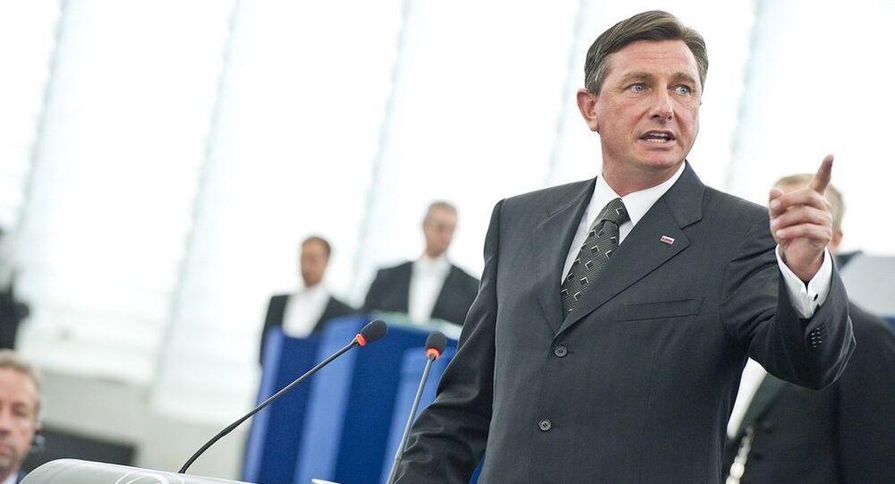 Borut Pahor, presidente da Eslovênia, conseguiu 53% da preferência no segundo turno da eleição
