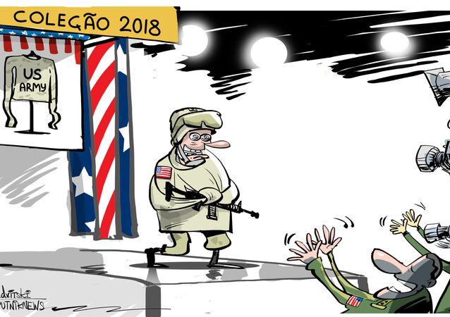 Moda militar norte-americana chega a ser inclusiva ao extremo