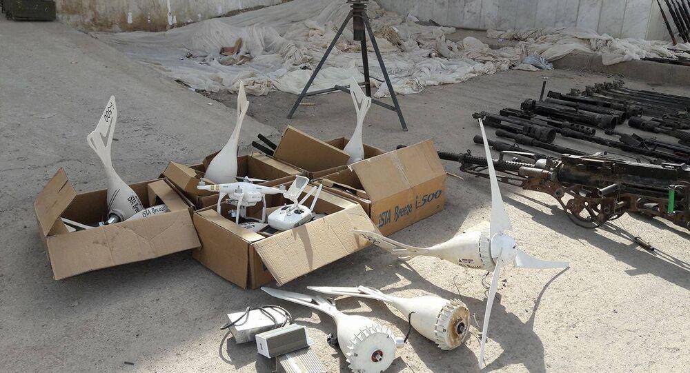 Armazéns de armas de terroristas (foto de arquivo)