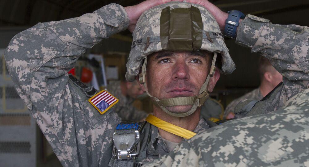 Soldado do Exército dos EUA (foto de arquivo)