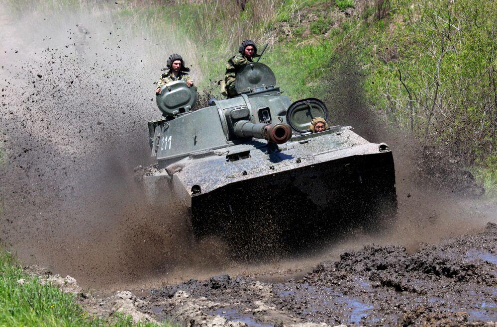 Peça de artilharia autopropulsada Gvozdika
