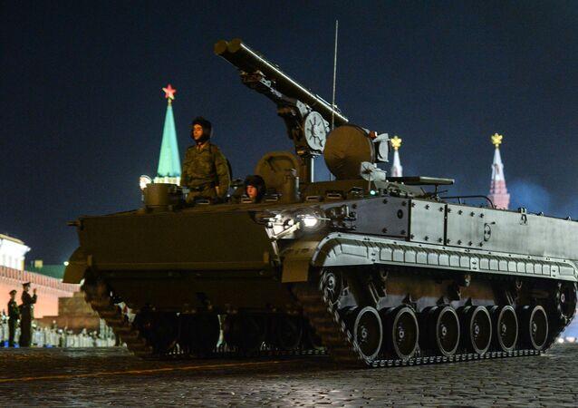 Sistema de mísseis antitanque autopropulsado Khrizantema-S