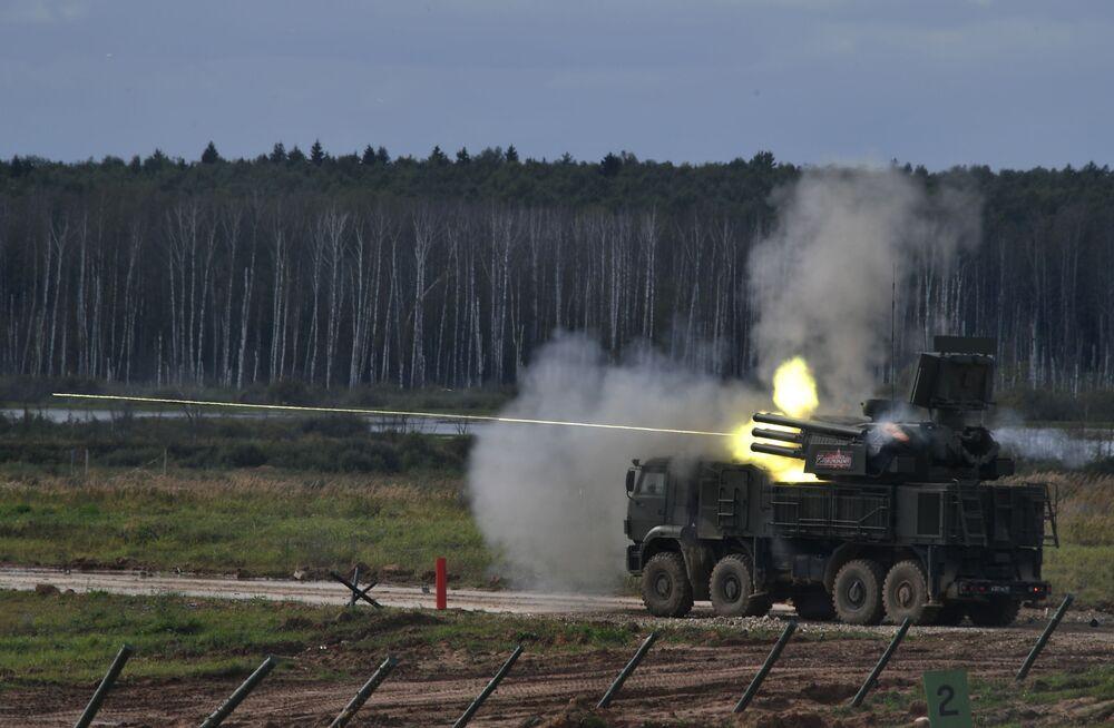 Sistema antiaéreo Panstir-S1