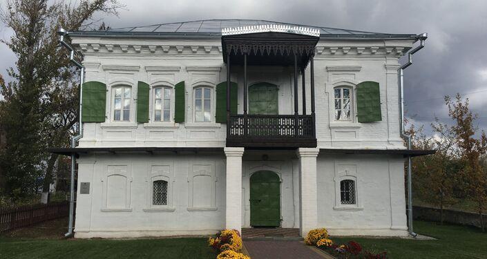 Uma das casas fortificadas dos cossacos na stanitsa Starocherkasskaya