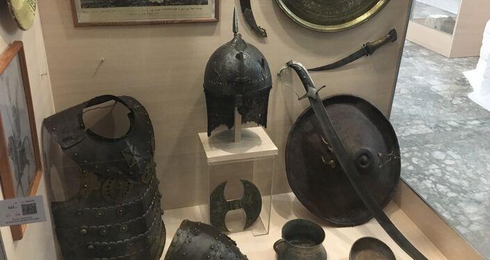 Equipamentos militares e utensílios que os cossacos levavam consigo para o campo de batalha