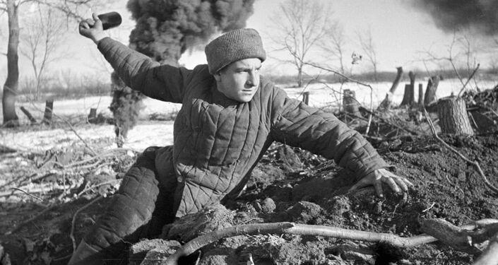 Uma das cenas da batalha de Stalingrado