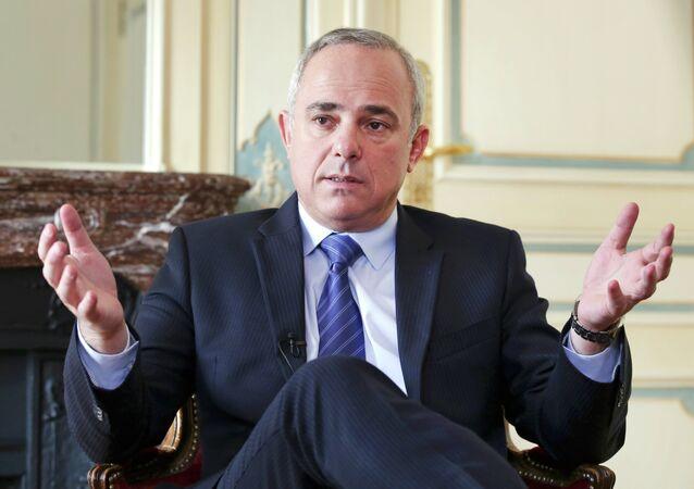 Yuval Steinitz, ministro de Energia e Recursos Hídricos de Israel