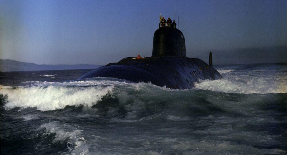 Submarino soviético (imagem ilustrativa)