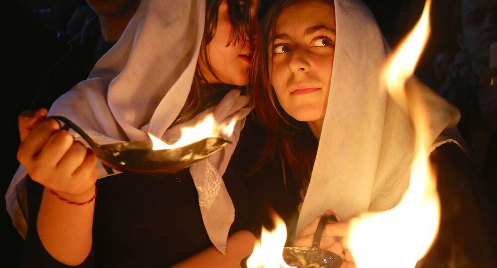 Mulheres yazidis, foto de arquivo