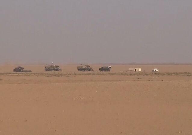 Tropas sírias e iraquianas se reúnem em Al-Bukamal