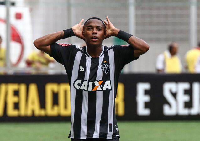 Atacante Robinho, do Atlético-MG