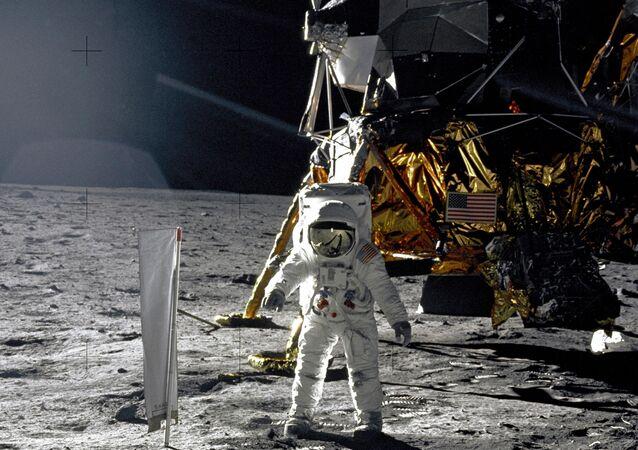 Missão espacial Apollo 11 (foto de arquivo)