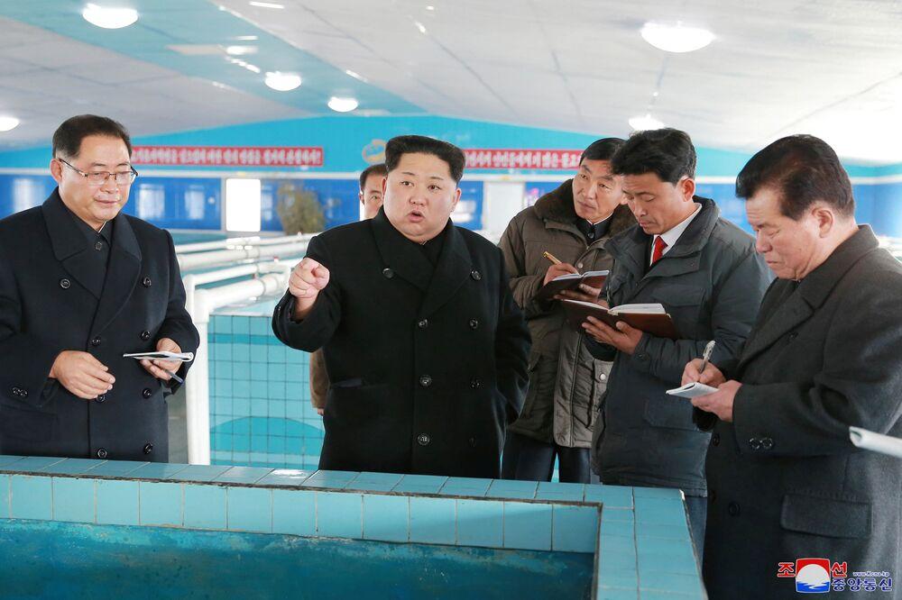No mesmo dia da visita, a Coreia do Norte voltou a disparar um míssil balístico intercontinental.