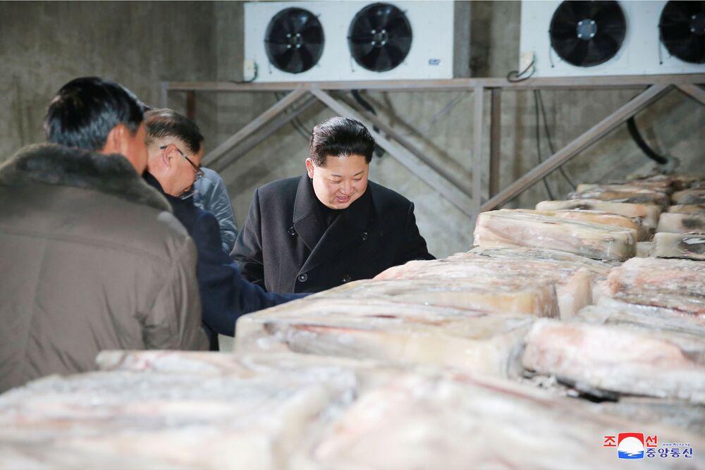 Segundo a agência de notícias da Coreia do Norte, o local fica na cidade de Sunchon.
