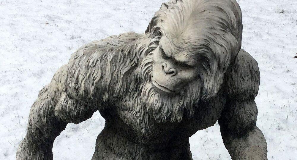 Estátua do Abominável Homem das Neves
