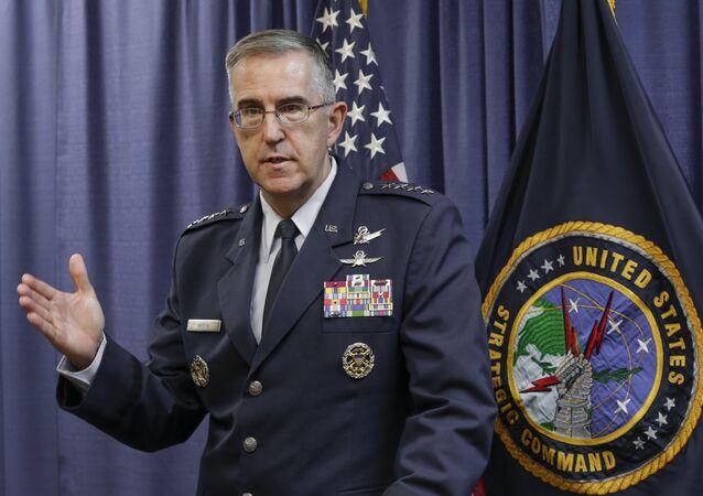 General da Força Aérea dos Estados Unidos e vice-chefe do Estado‑Maior Conjunto dos EUA, John Hyten