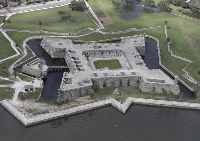 Castelo de S. Marcos do século XVII, EUA